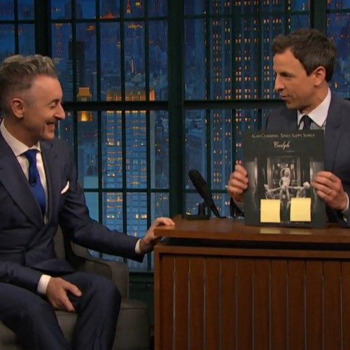 Alan Cumming is a Dancer After Dark! See his interview on Late Night with Seth Meyers.