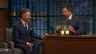 Alan Cumming is a Dancer After Dark! See his interview with Seth Meyers